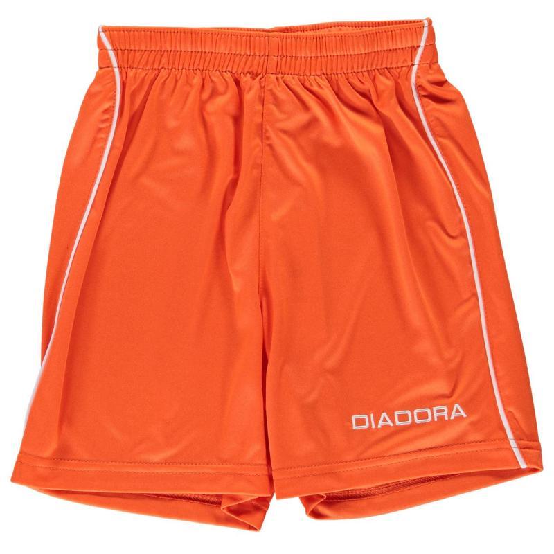 Kraťasy Diadora Madrid Shorts Junior Boys White/Black