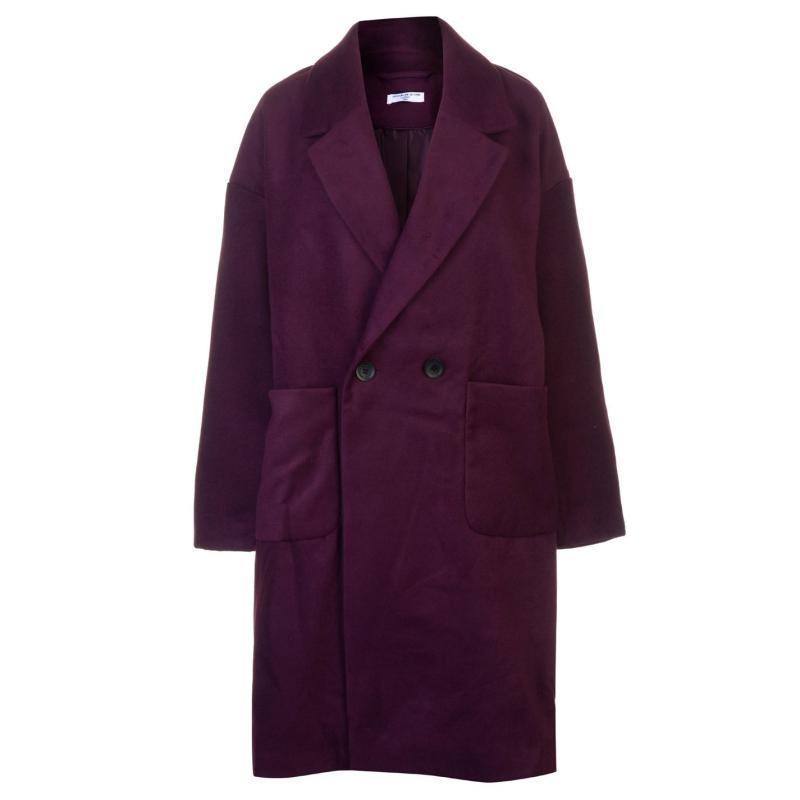 JDY Kelly Long Coat Purple