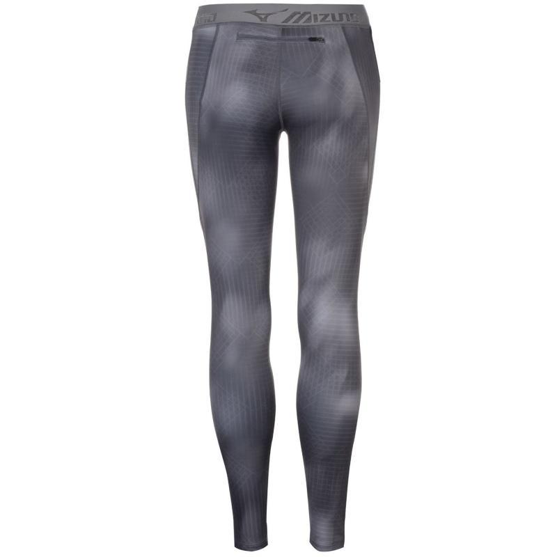Legíny Mizuno Impulse Fitness Leggings Ladies Grey