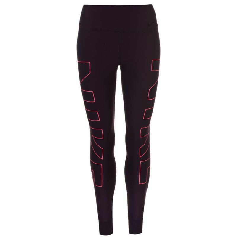 Nike Power Legend Training Tights Ladies Port Wine/Pink