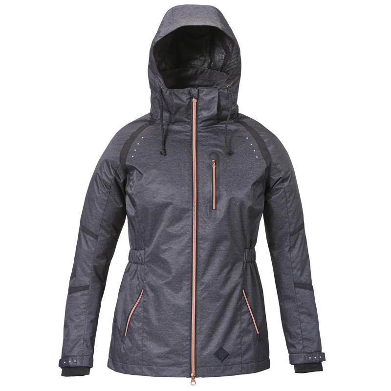 Caldene Isla Waterproof Jacket Ladies Black Marl