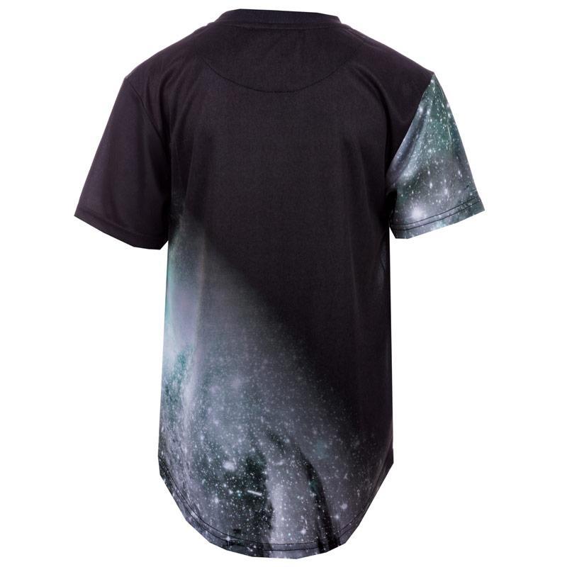 Tričko Beck And Hersey Junior Boys Sub Astro T-Shirt Black