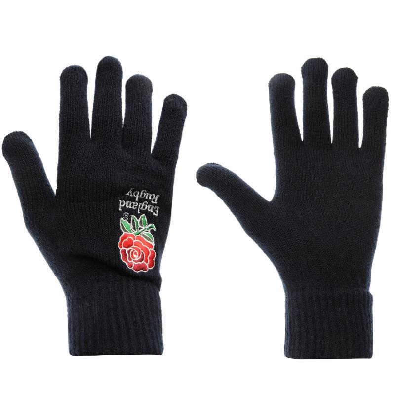 RFU England Gloves Mens Navy