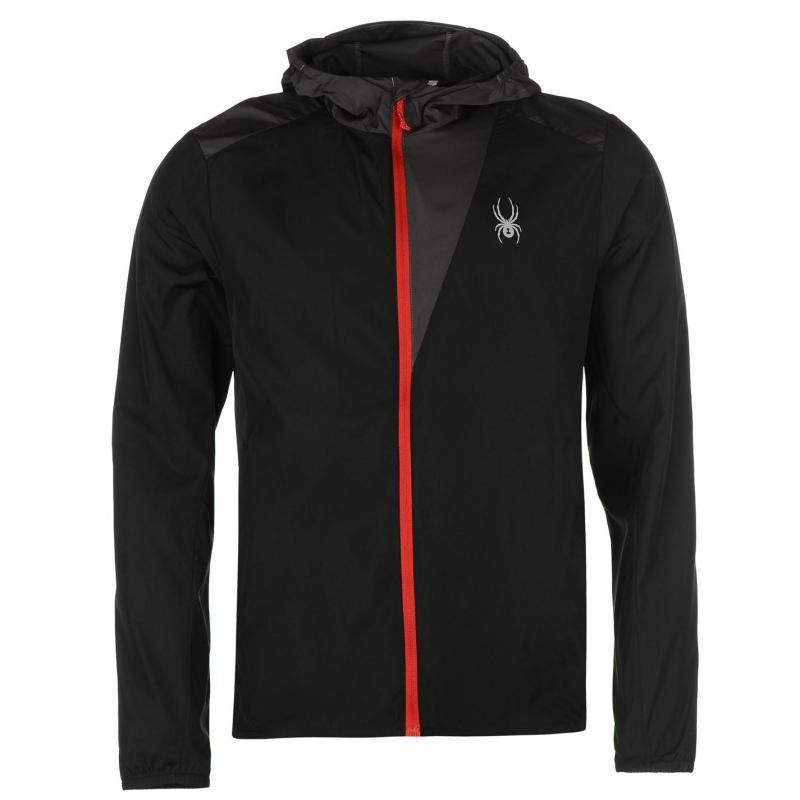 Spyder Alpine Full Zip Hoody Jacket Mens Black/Grey