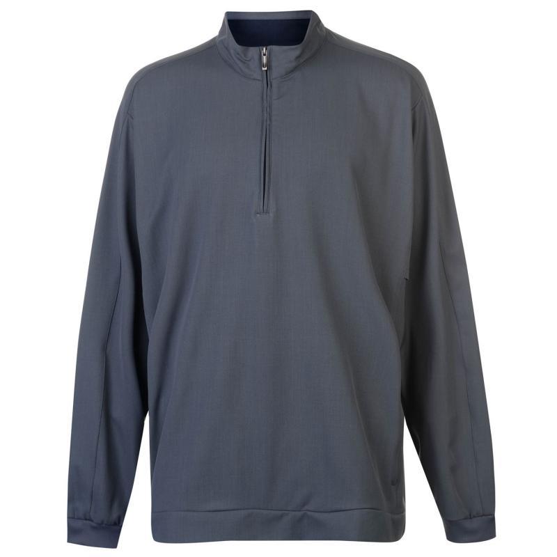 Ashworth Zip Pullover Mens Graphite