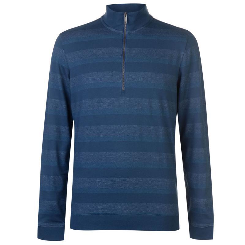 Ashworth Zip Pullover Mens Green