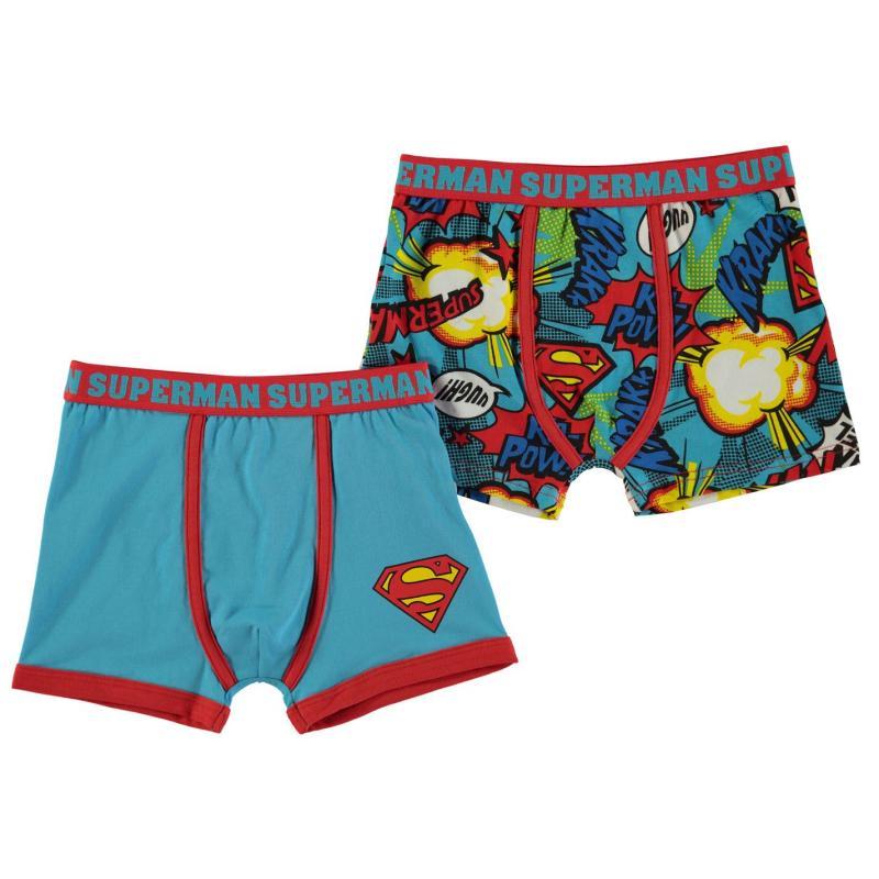 Spodní prádlo Character 2 Pack Boxers Infant Boys Superman