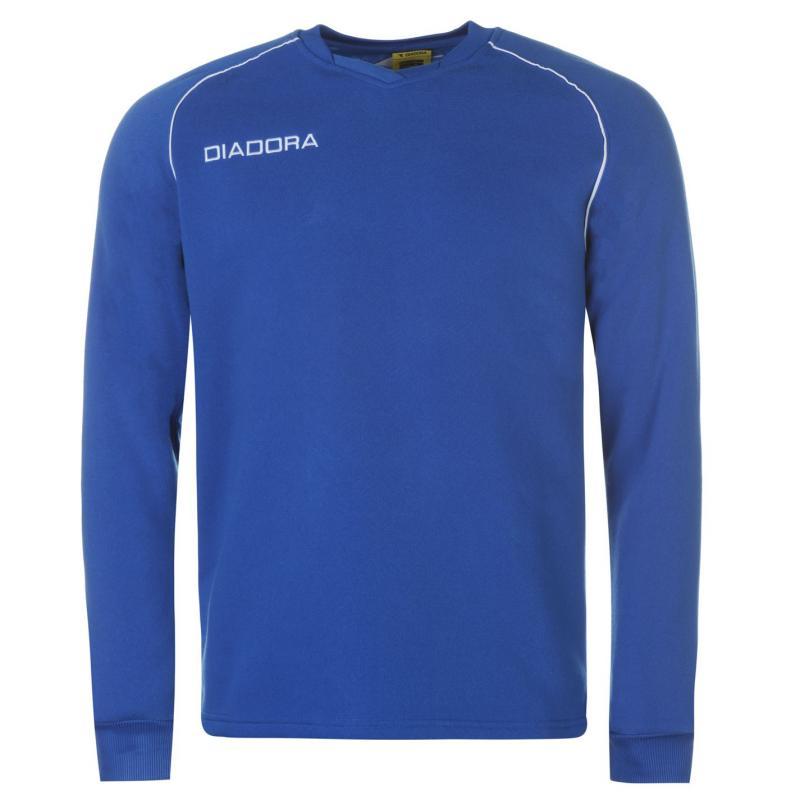 Tepláky Diadora Madrid Sweatshirt Mens Dark Blue