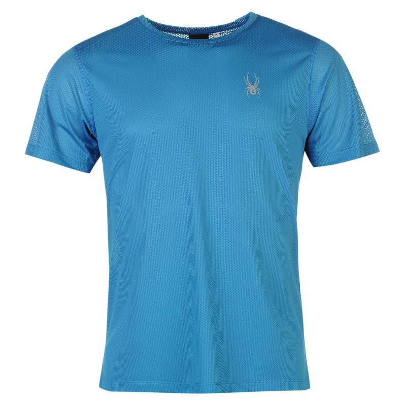 Spyder Alpine T Shirt Mens Blue/Black