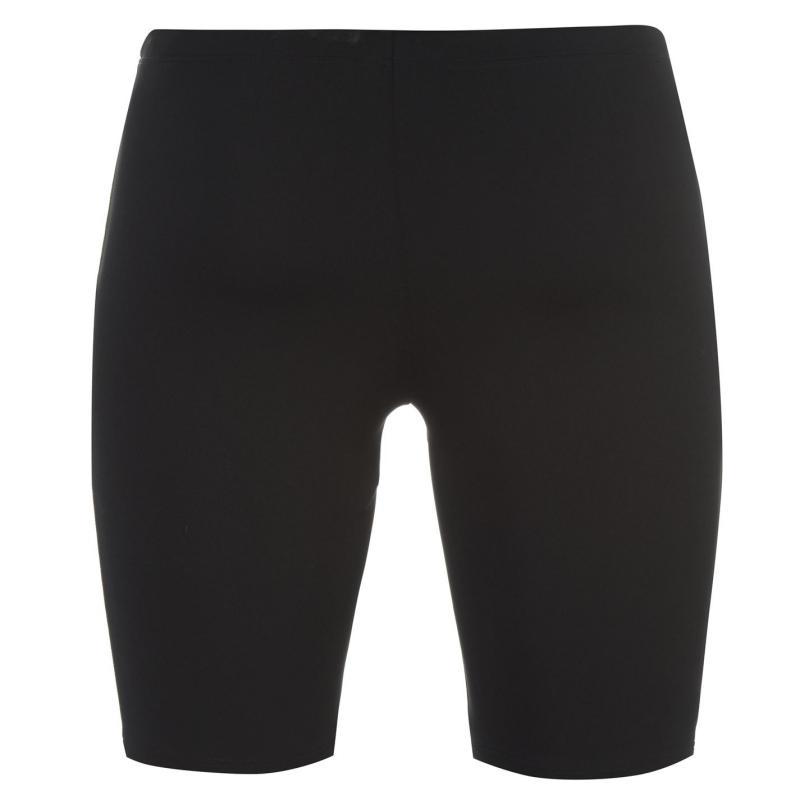 Plavky Arena Microcarbonite Swimming Jammers Mens Black/Red