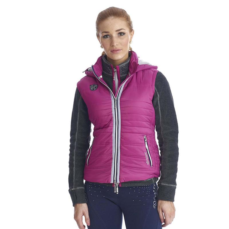 Just Togs Alexandra Gilet Ladies Pink