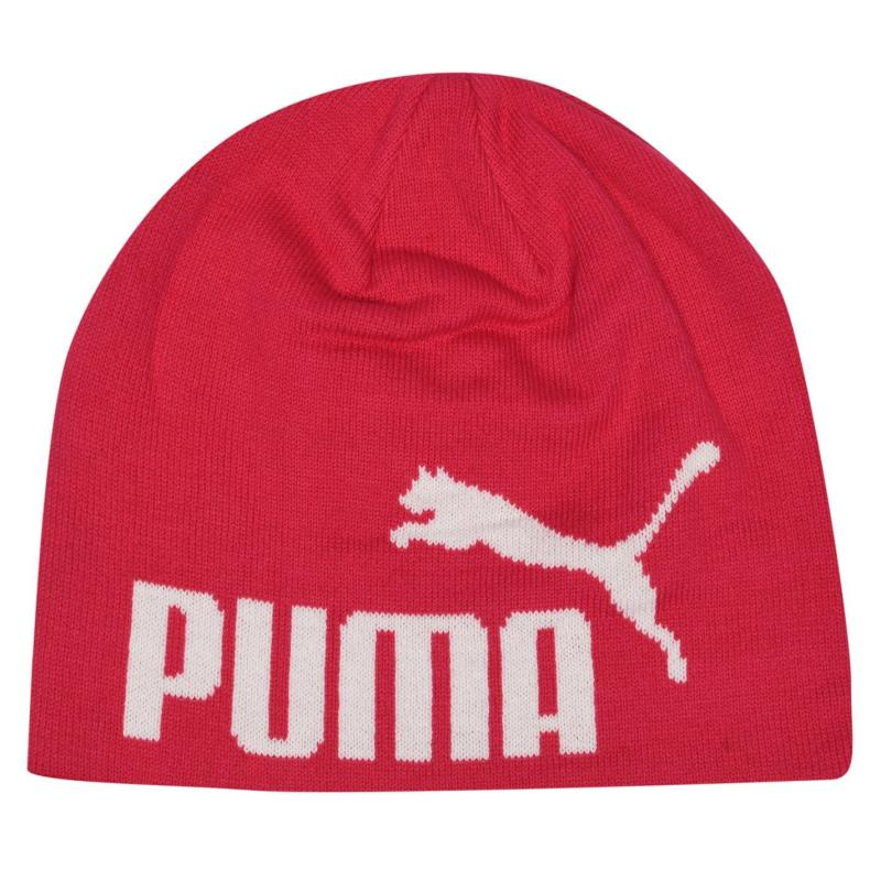 Puma Big Cat Beanie Mens Pink