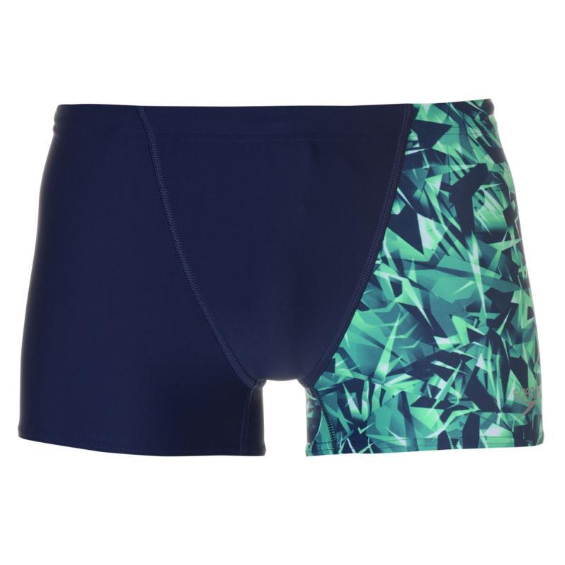 Speedo ALV Shorts Mens Navy/Green