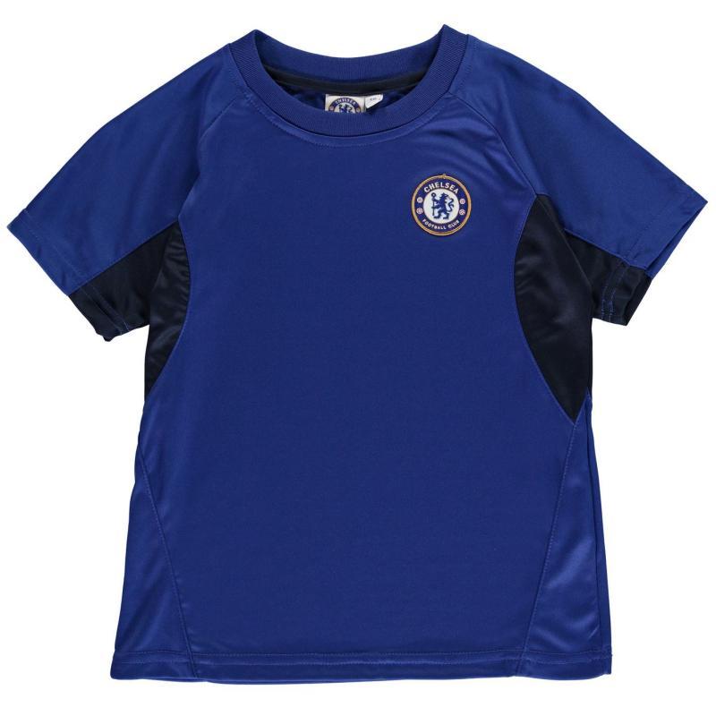 Source Lab Chelsea Poly T Shirt Junior Boys Royal