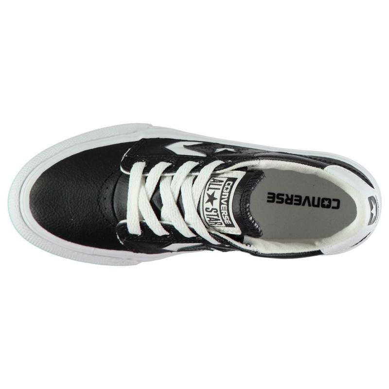 Boty CONS Tre Star AC Trainers Black/White