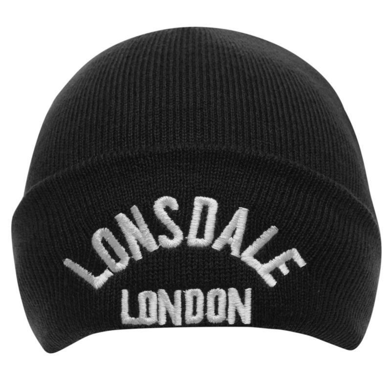 Lonsdale Logo Beanie Pastal Blue