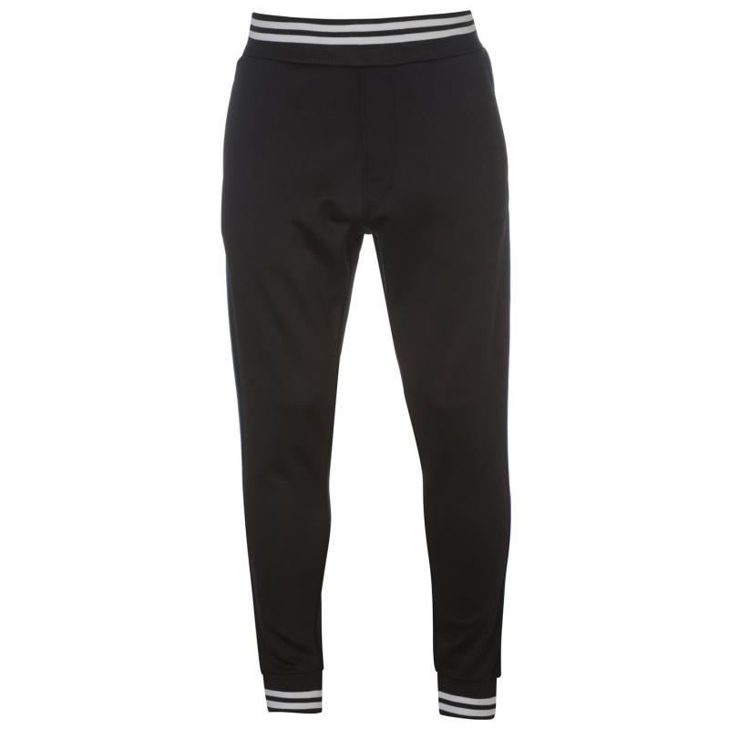 Tepláky Pierre Cardin Stripe Slim Fit Joggers Mens Black/White