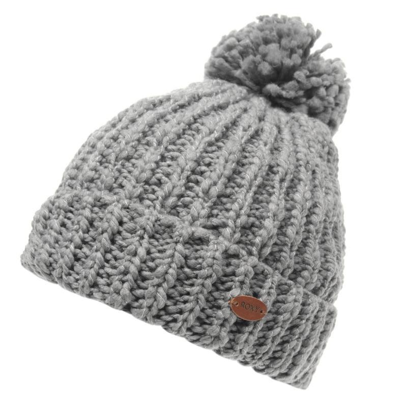 Roxy Island Beanie Hat Ladies Charcoal