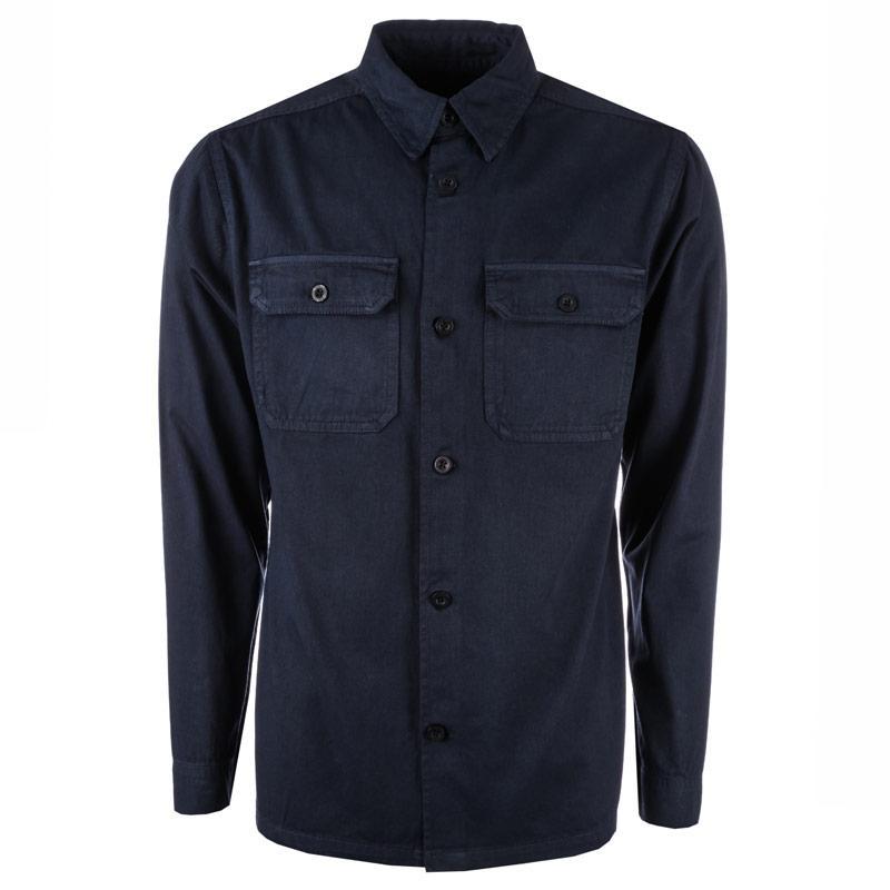 D-Struct Mens Bahia Over Shirt Khaki