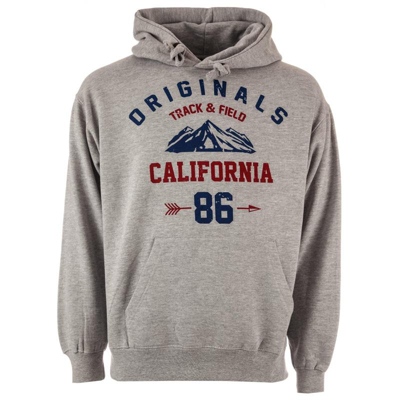 Mikina Varsity Team Players Mens California Originals Hoody Grey Heather