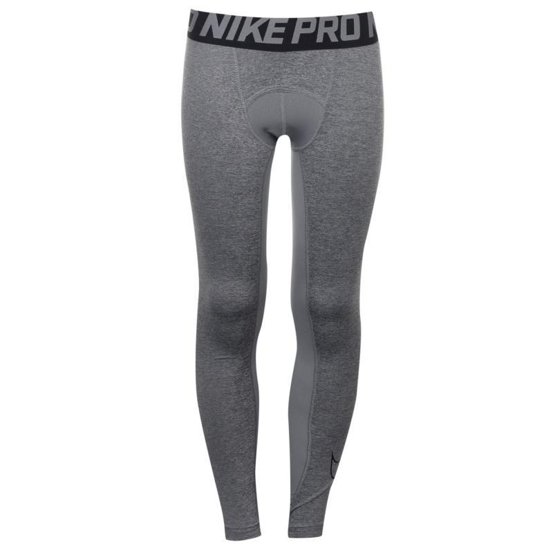 Nike Pro Core Tights Junior Boys Grey