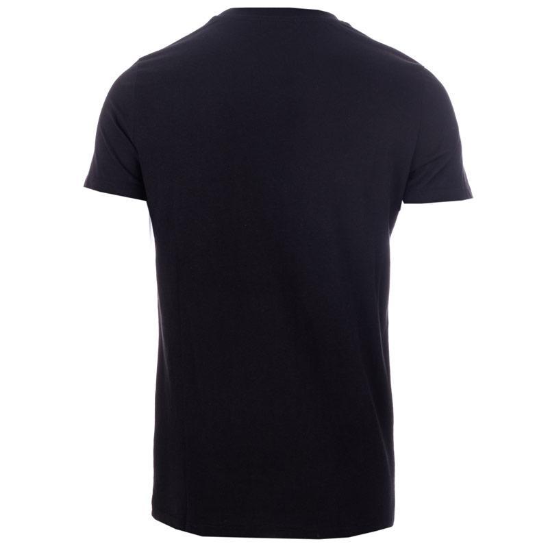 Tričko Hype Mens Smudge T-Shirt Black