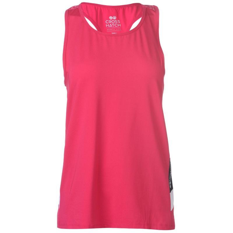 Crosshatch Roxanne Vest Ladies Jazzy