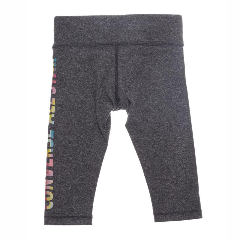 Converse Junior All Star Capri Leggings Charcoal