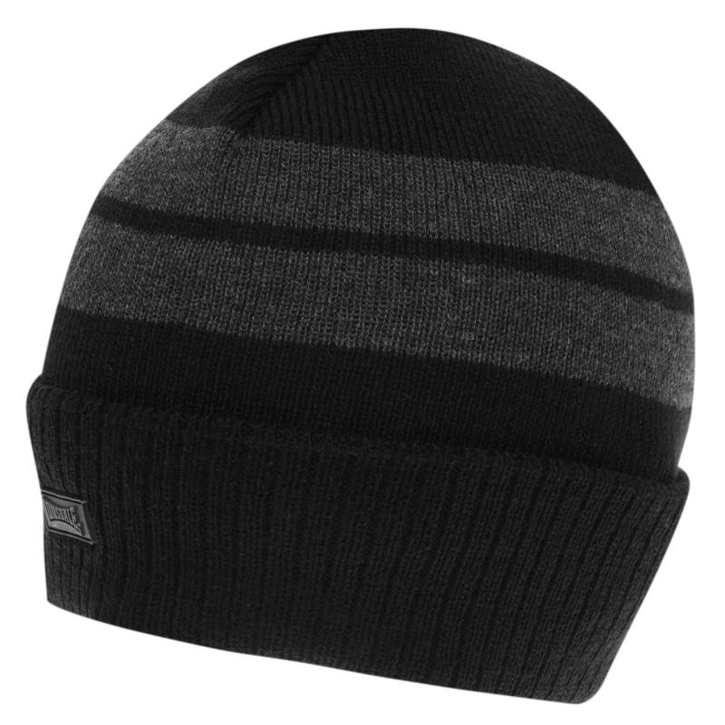 Lonsdale Turn Up Hat Navy
