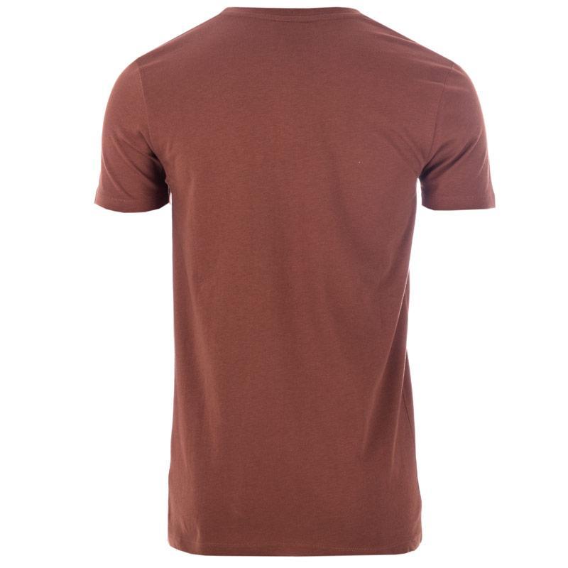 Tričko Hype Mens FMG Logo T-Shirt Brown