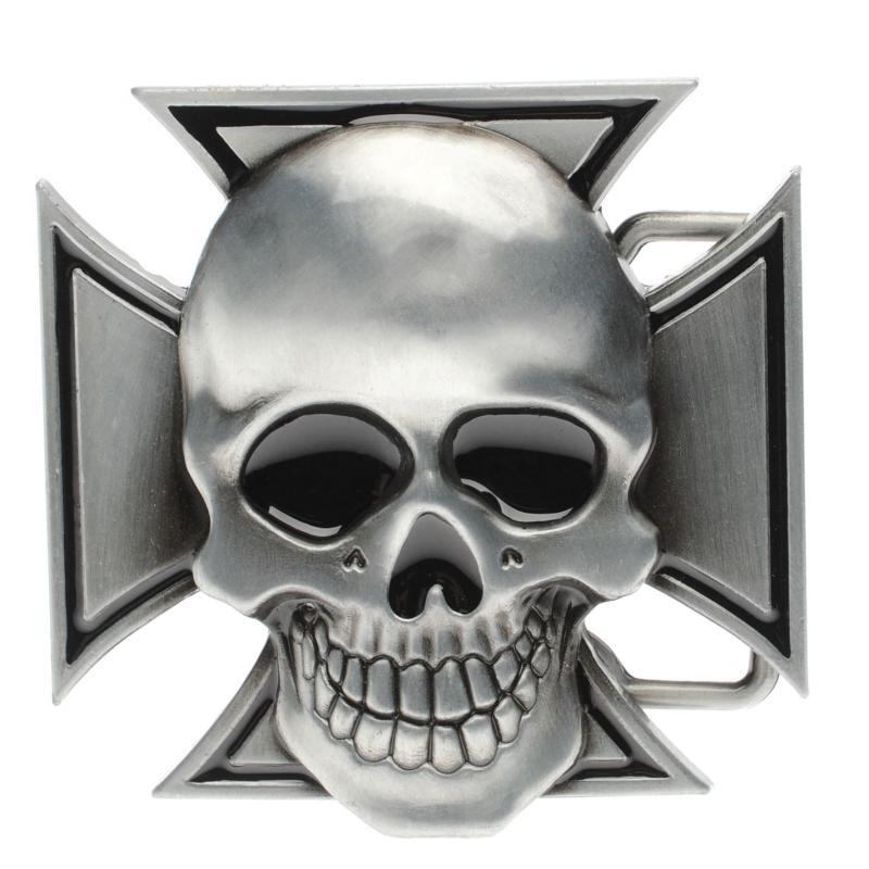 Jilted Generation Belt Buckle Cross/Skull