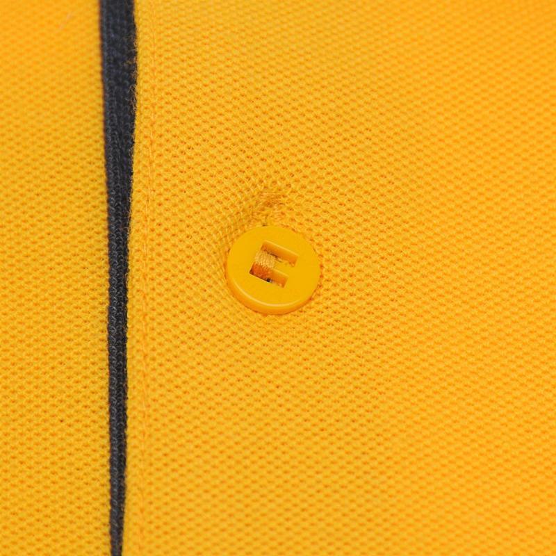 Slazenger Tipped Polo Shirt Mens Mustard
