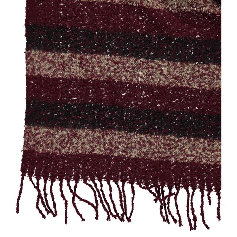 SoulCal Blanket Scarf Ladies Red Check