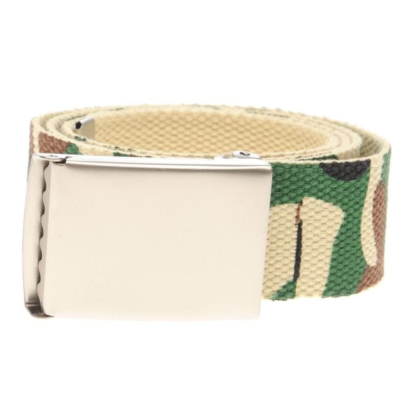 Jilted Generation Canvas Belt Camo