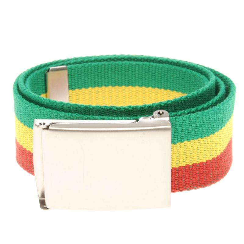 Jilted Generation Canvas Belt Rasta