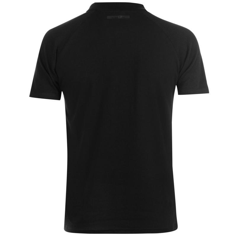 Born Rich Bastian Polo Shirt Mens Black