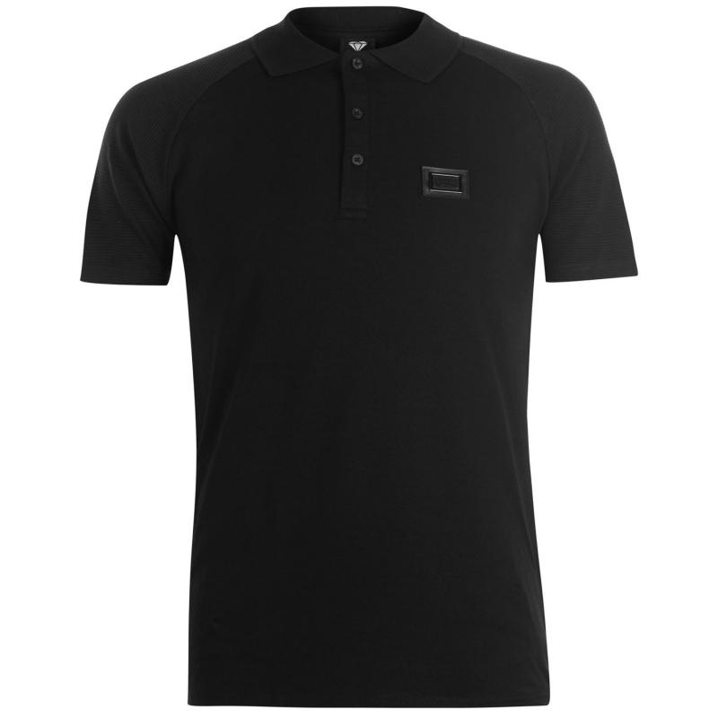 Born Rich Bastian Polo Shirt Mens Vaporous Grey