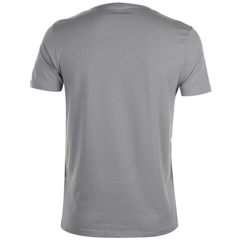 Tričko Born Rich Giggs T Shirt Mens Alloy Marl