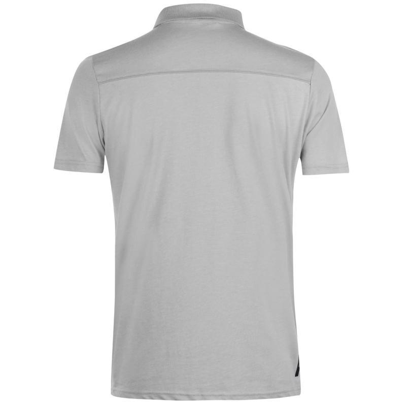 Born Rich Rata Polo Shirt Mens Black Marl