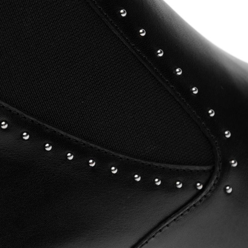 Bronx Strut Chelsea Boots Black Vintage