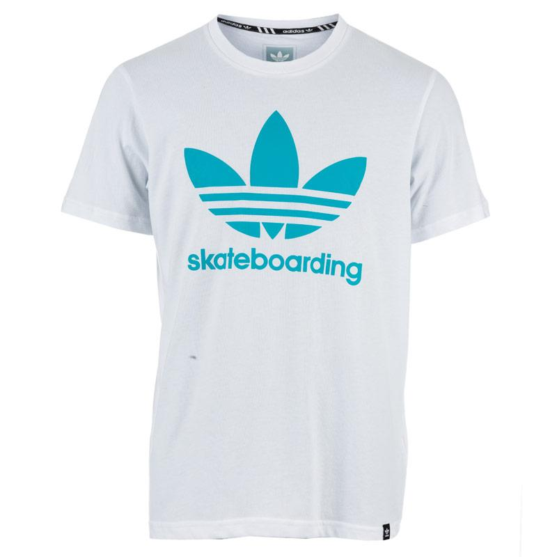 Tričko Adidas Originals Mens Clima 3.0 T-Shirt White