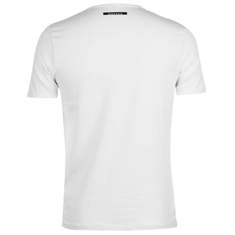 Tričko Born Rich Beckam T Shirt Mens Baked Clay