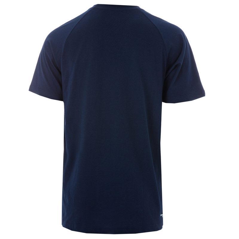 Tričko Adidas Performance Mens Sports Essentials Crew T-Shirt Navy