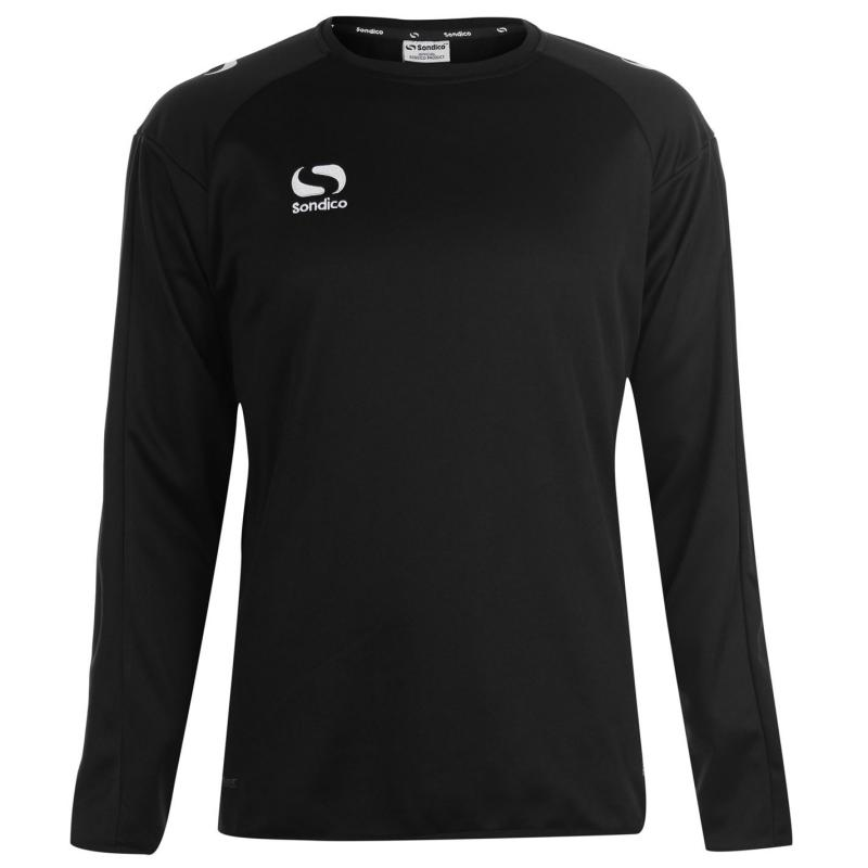 Mikina Sondico Strike Crew Sweater Mens Black/White