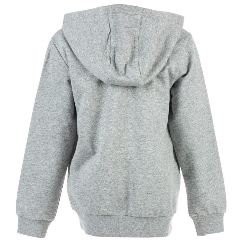 Mikina Emporio Armani EA7 Junior Boys Training Core ID Zip Hoody Grey