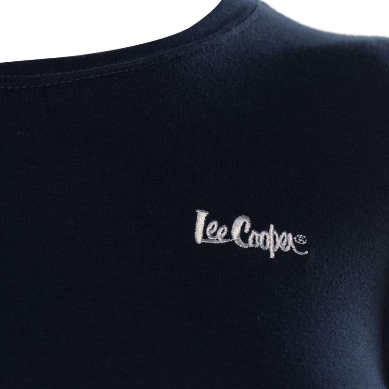 Lee Cooper Casual T Shirt Ladies Turquoise