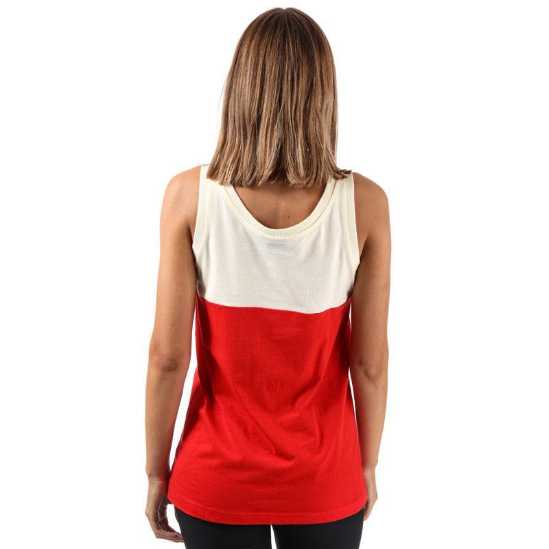 Adidas Originals Womens Embellished Arts Tank Top Red