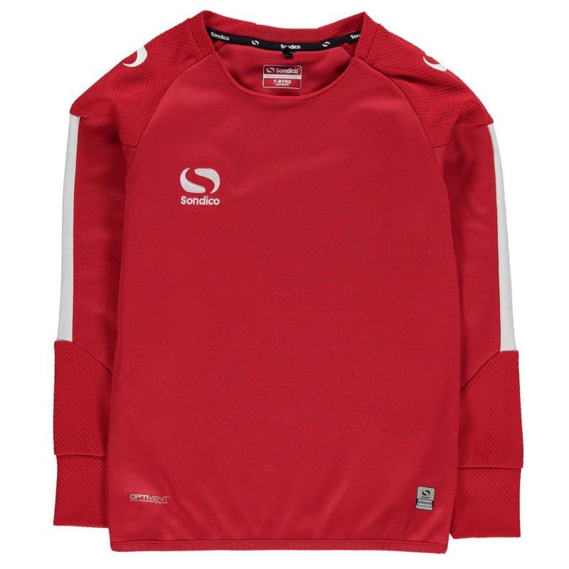 Mikina Sondico Evo Crew Sweater Junior Boys Red