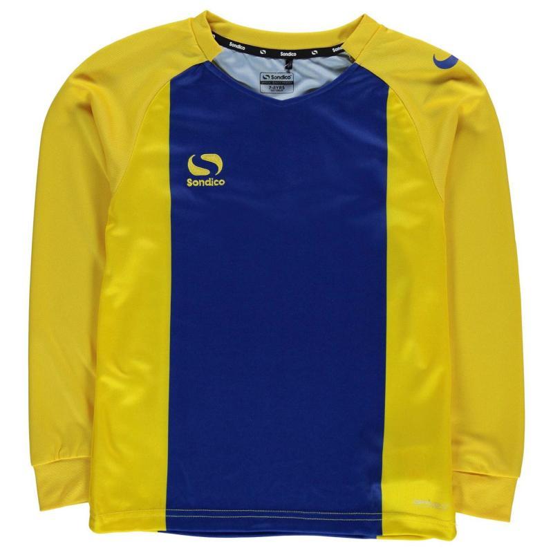 Tričko Sondico Valencia Jersey Junior Boys Royal/Yellow
