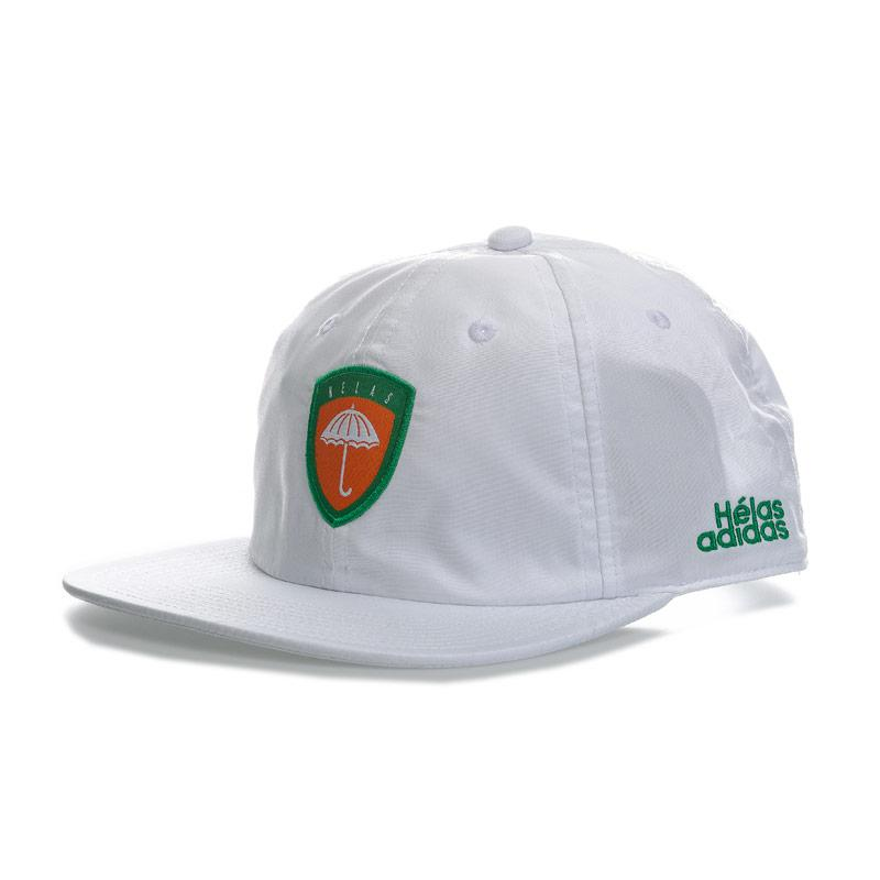 Adidas Originals Mens Helas 6 Panel Cap White